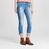 Dollhouse Women's Porkchop Pocket Rolled Crop Jeans Juniors')