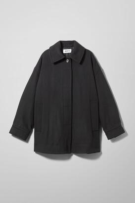Weekday Carli Oversized Jacket - Black