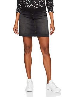 Esprit Women's Skirt Denim UTB mid