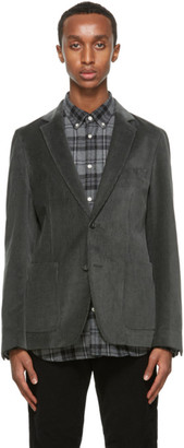 Officine Generale Grey Corduroy 375 Blazer