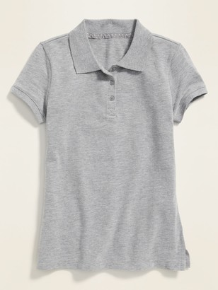 Old Navy Uniform Short-Sleeve Pique Polo for Girls