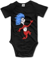 BRNOI Baby Boys Thing 1 Dr Seuss Bodysuit Outfits
