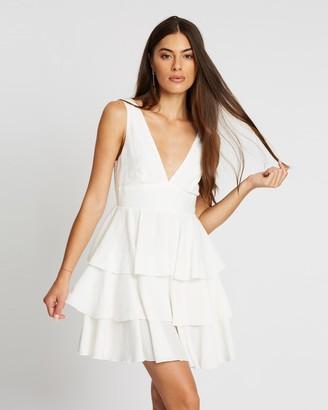 Atmos & Here Ella Tiered Tie Dress