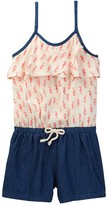 Roxy Big Rip Current Romper (Toddler, Little Girls, & Big Girls)