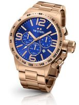 TW Steel Canteen 45MM Rose-Goldplated Stainless Steel Bracelet Watch