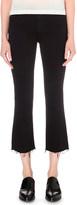 J Brand Selena frayed bootcut jeans