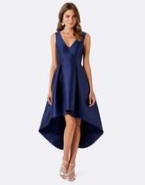 Forever New Sleeveless Satin Occasion Dress