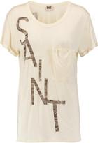 Haute Hippie Sinner/Saint printed modal-jersey T-shirt