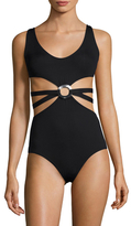 Proenza Schouler Maillot Ring One Piece Swimsuit