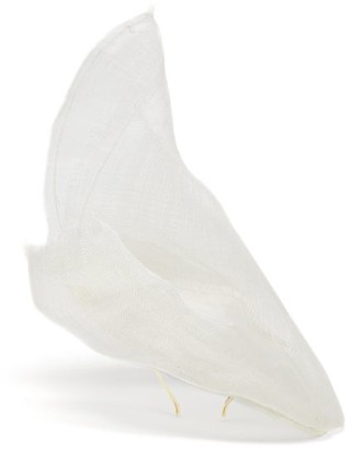 Stephen Jones Billow Cloud Coolie Hat - Womens - Ivory