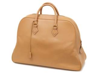 Hermes Camel Leather Travel bags
