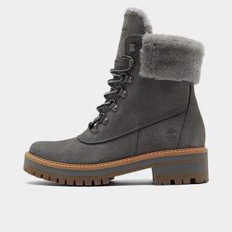 Timberland Women's Courmayeur Valley Waterproof 6 Inch Shearling Boots