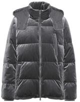 Brunello Cucinelli Padded velvet jacket