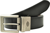 Dickies Black & Brown Reversible Double-Stitch Belt
