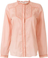 Vanessa Bruno embroidered yoke blouse