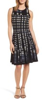 Nic+Zoe Petite Women's Crystal Cove Twirl Fit & Flare Dress
