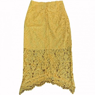Sandro Yellow Skirt for Women