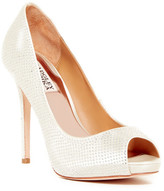 Badgley Mischka Polite Micro-Studded Pump