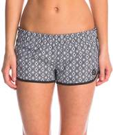 "Hurley Women's Supersuede Printed Diamond 2.5"" Beachrider Boardshort 8145645"