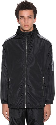 Marcelo Burlon County of Milan County Tape Nylon Windbreaker