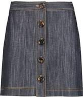 ADAM by Adam Lippes Denim Mini Skirt
