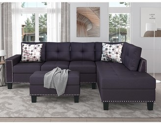 Sectional With Nailhead Trim Shop The World S Largest Collection Of Fashion Shopstyle