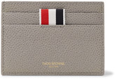Thom Browne Pebble-Grain Leather Cardholder