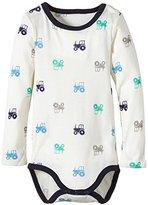 Name It Boy's 13098552 Willi Wool Mini LS Body 314 Noos Vest