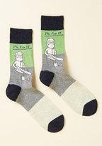 ModCloth Handy and Foot Men's Socks