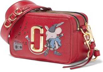 Marc Jacobs THE The Softshot 21 Leather Crossbody Bag
