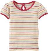 Kickee Pants Graphic Tee (Baby) - Boy Beach Stripe-NB