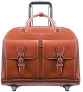 McKlein McKleinUSA Davis 15.4 Leather Wheeled Laptop Briefcase