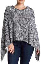 Tart Alana Cashmere Blend Knit Poncho (Plus Size)