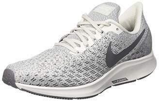 Nike Women's WMNS Air Zoom Pegasus 35 Running Shoes, Grey (Phantom/Gunsmoke/Summit White 004)