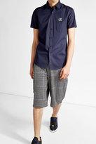 Fendi Cotton Shirt with Patch