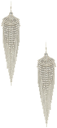 8 Other Reasons Feathered Gem Earring