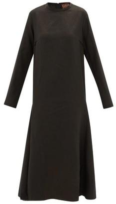 ALBUS LUMEN Tula Linen Dress - Womens - Black