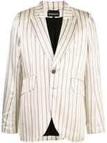 Ann Demeulemeester striped blazer jacket