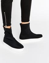 Monki Slip On Flatform Sneaker