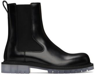 Bottega Veneta Black Level Chelsea Boots
