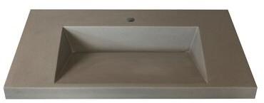 Marble Lite Ramp Bowl Vessel 31 Single Bathroom Vanity Top Shopstyle Sinks Washstands