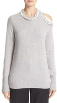 3.1 Phillip Lim Women's Embellished Wool Blend Sweater