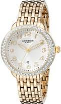 Akribos XXIV Women's AK831YG Analog Display Japanese Quartz Watch