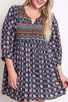 Umgee USA The Heather Tunic Dress