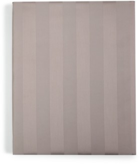 """Charter Club Damask 1.5"""" Stripe Twin Xl Fitted Sheet, 550 Thread Count 100% Supima Cotton, Created for Macy's Bedding"""