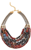 David Aubrey Hailey Layered Necklace