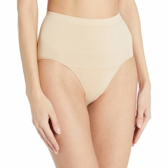 Arabella Women's Matte and Sheer Seamless Shapewear Brief