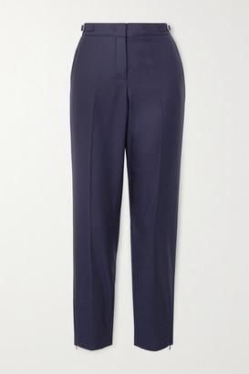 Gabriela Hearst Net Sustain Lisa Wool Tapered Pants - Navy