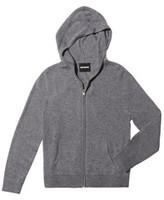 Monrow Cashmere Zip-Up Hoodie