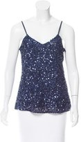 Parker Sequined Sleeveless Top w/ Tags